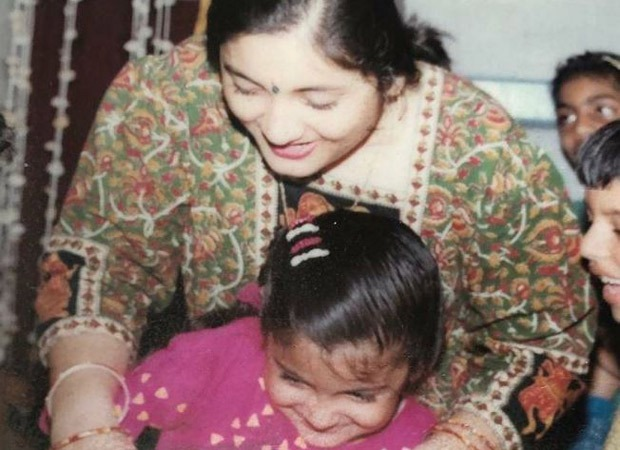 Anushka Sharma shares a childhood picture as she celebrates mothers on Women's Day