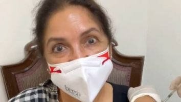 Neena Gupta takes the first dose of COVID-19 vaccination; shares video