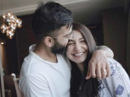 Virat Kohli kisses Anushka Sharma in latest picture as the two celebrate their daughter Vamika turning two-months-old