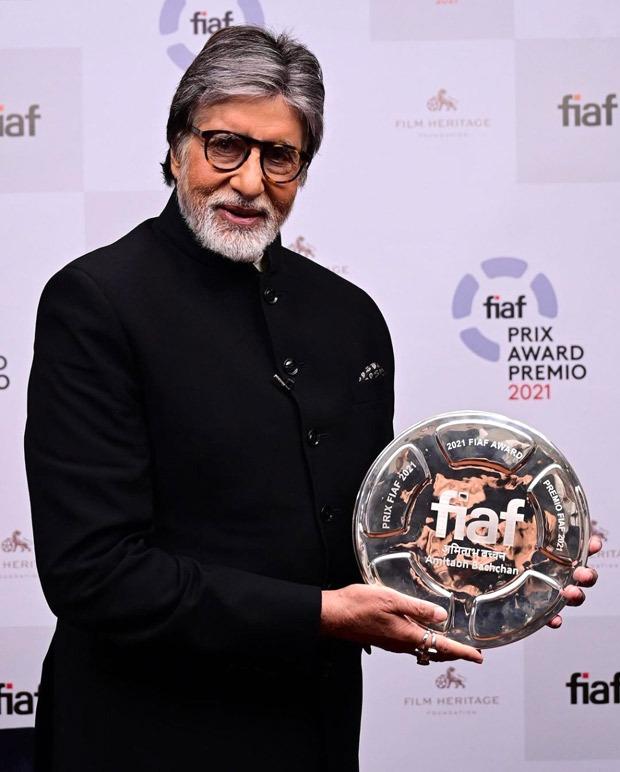 Christopher Nolan calls Amitabh Bachchan 'living legend', felicitates him with FIAF award with Martin Scorsese
