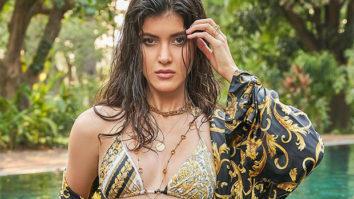 Shanaya Kapoor raises the temperature in mosaic print Versace bikini