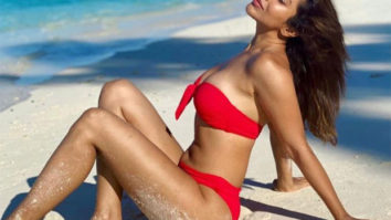 Sophie Choudry poses in a red bikini; says there was a time she would freak out about wearing a bikini