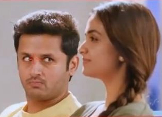 Nithiin accidentally punches Keerthy Suresh while shooting for Rang De; watch