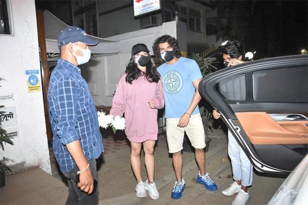 Vijay Deverakonda reunites with Dear Comrade star Rashmika Mandanna for dinner