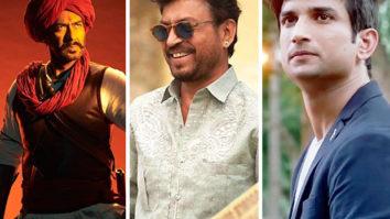 Filmfare Awards 2021: It's Ajay Devgn vs Irrfan Khan vs Sushant Singh Rajput in the Best Actor category