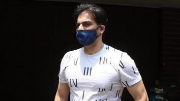 Arbaaz Khan spotted at salon in Bandra
