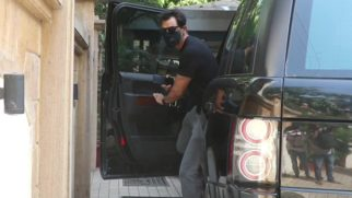 Arjun Rampal spotted at his office in Khar