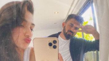 Athiya Shetty shares goofy pictures with rumoured boyfriend KL Rahul on his birthday