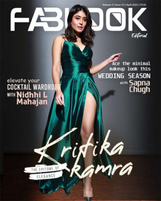 Kritika Kamra on the cover of Fablook, Apr 2021