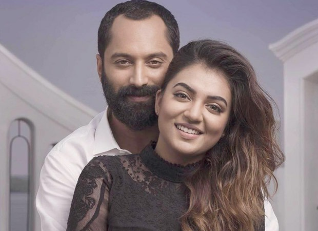 फहद फ़ासिल और पत्नी नज़रीया हैदराबाद में अपनी तेलुगु की शूटिंग के लिए
