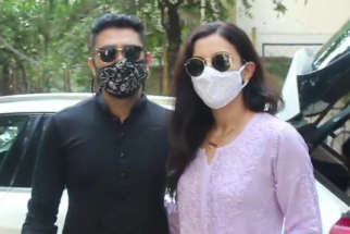 Gauahar Khan and Zaid Darbar spotted at Lokhandwala in Andheri