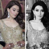 Hansika Motwani oozes desi glamour in embellished gown at her brother's sangeet