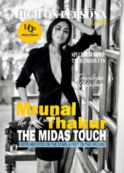 Mrunal Thakur On The Cover of High On Persona
