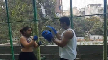 Ira Khan has hilarious explanation for her kick-boxing style, shares a video with boyfriend Nupur Shikhare