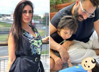 Kareena Kapoor Khan shares glimpse of newborn son with Taimur Ali Khan and Saif Ali Khan