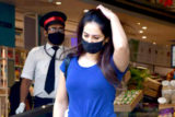 Kim Sharma and Leander Paes spotted at foodhall in Bandra