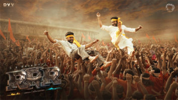 Makers of RRR launch a new poster starring Ram Charan and Jr. NTR on the occasion of Gudi Padwa, Ugadi & Baisakhi