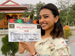 On The Sets Of The Movie Mrs. Undercover