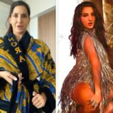 Nora Fatehi looks sexy in 'Buss It' challenge video, dons Rs. 69,100 custom Gucci bathrobe
