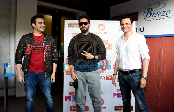 Photos Ayushmann Khurrana spotted for the shoot of Arbaaz Khan's chat show (4)