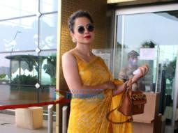Photos: Kangana Ranaut, Gauahar Khan, Zaid Darbar and Ahan Shetty snapped at the airport