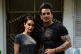 Prince Narula & Yuvika Chaudhary spotted outside the gym in Andheri