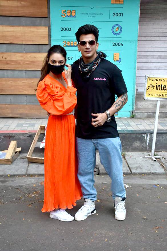 Prince Narula and Yuvika Chaudhary snapped in Andheri (4)