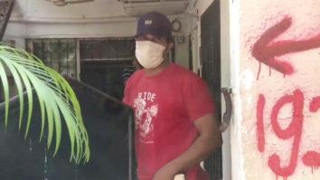 Randeep Hooda spotted at Versova