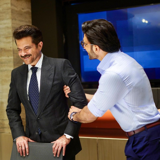 Ranveer Singh calls Anil Kapoor 'legend of an artist' after shooting a campaign