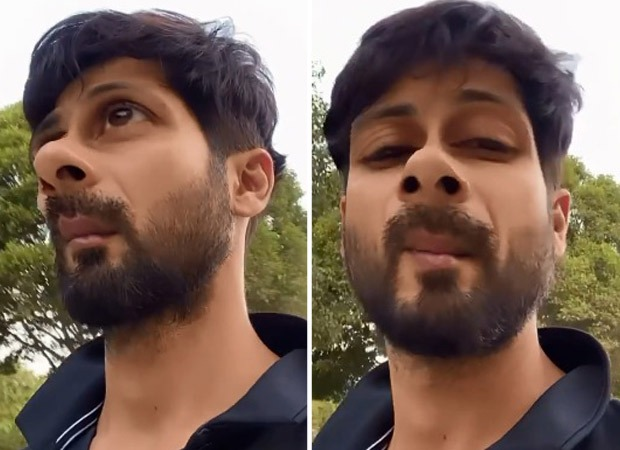 Shahid Kapoor shares goofy video while walking around in backyard without mask