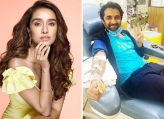 Shraddha Kapoor urges people to donate plasma, shares a picture of Siddhanth Kapoor doing the same