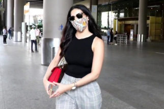 Spotted - Amyra Dastur, Soni Razdan and Shaheen Bhatt at Airport