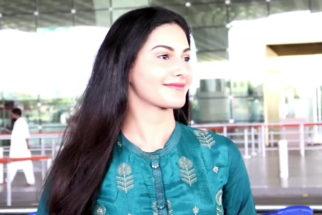 Spotted - Amyra Dastur and Anjum Fakih at Airport
