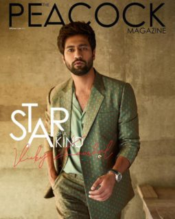 Vicky Kaushal On The Covers Of The Peacock