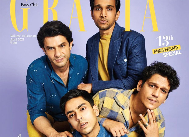 Vijay Varma, Arjun Mathur, Pratik Gandhi and Adarsh Gourav ooze swag as they grace the cover of Grazia