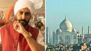 Abhishek Bachchan shares picture of Taj Mahal from Agra; makes a Bunty Aur Babli reference