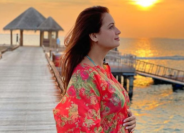 GOOD NEWS! Dia Mirza announces her pregnancy with a picture of her baby bump : Bollywood News – Bollywood Hungama