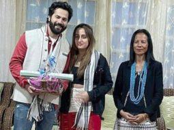 Varun Dhawan and Natasha Dalal donate Rs 1 lakh for fire victims of Arunachal Pradesh