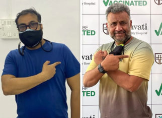 Anurag Kashyap and Anubhav Sinha receive first dose of COVID-19 vaccine