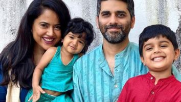 Sameera Reddy gives a health update about her kids after she and her husband Akshai Varde test COVID-19 positive