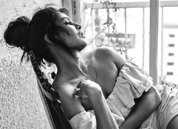 Jacqueline Fernandez shares monochrome picture, asks everyone to stay safe
