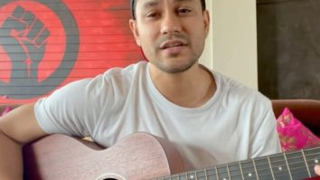 Kunal Kemmu sings a song written and composed by him reflecting on the uncertainty during the pandemic; watch