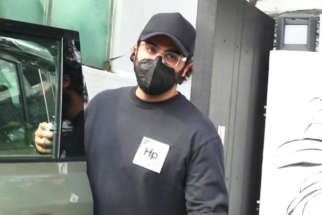 Arjun Kapoor spotted at Lokhandwala complex in Andheri