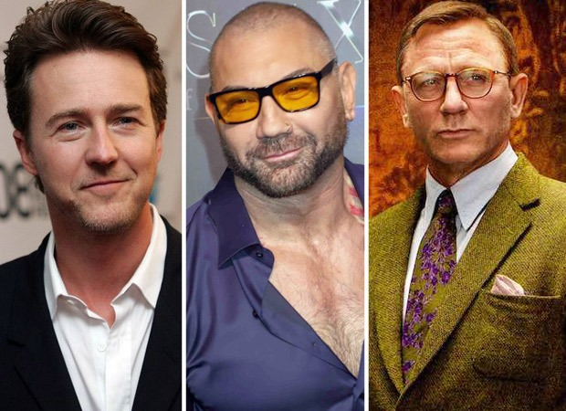 Edward Norton and Dave Bautista join the cast of Daniel Crag starrer Knives Out 2