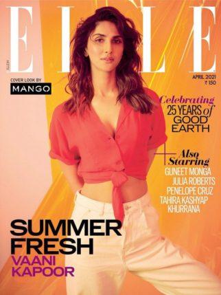 Vaani Kapoor On The Cover Of Elle