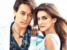 FUNNY - Tiger Shroff Kriti Sanon BULLIES me, she pushes me around in... 7 Years Of Heropanti