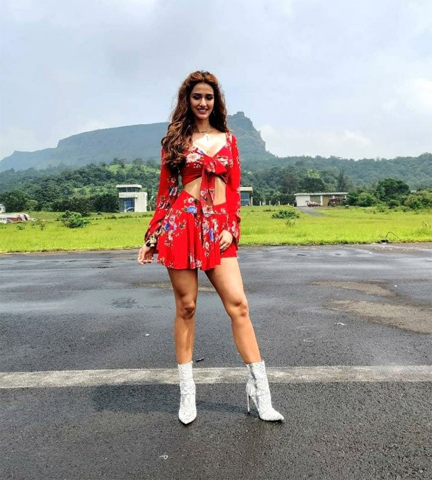 From floral co-ords to pink corset & mini skirt, Disha Patani is all about vibrant summer looks in Radhe - Your Most Wanted Bhai