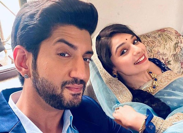 Kyun Utthe Dil Chhod Aaye stars Kunal Jaisingh and Gracy Goswami share fun moments on the sets