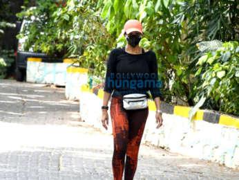 Photos: Mandira Bedi snapped in Bandra