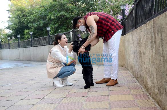 Photos Prince Narula and Yuvika Chaudhary snapped in the city (6)